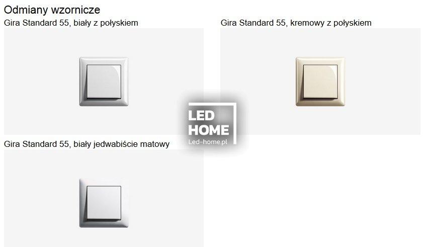 gira standard 55 gira osprz t elektryczny pozosta e. Black Bedroom Furniture Sets. Home Design Ideas